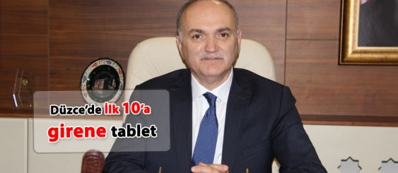 İlk 10 a girene tablet